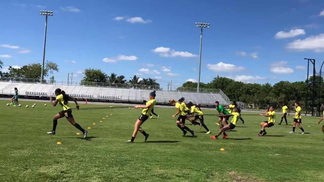 Jamaica's Reggae Girlz, with help from Bob Marley's daughter, make World Cup history