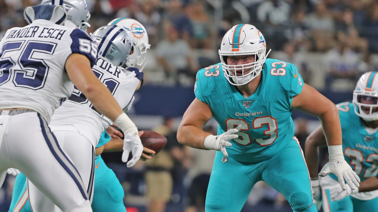 Here's what the Dolphins know and don't know about their young linemen on both sides
