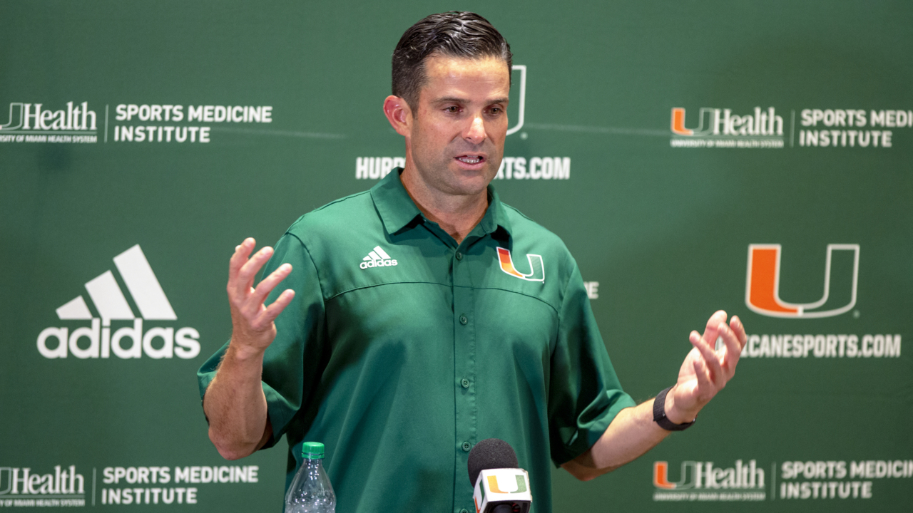 What an unusual Week 1 bye week means for coach Manny Diaz and the Miami Hurricanes