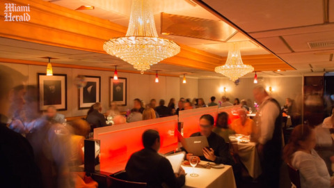 How this windowless Coral Gables restaurant became home to Miami's heavy hitters