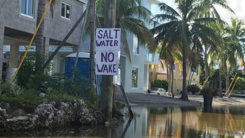 Key Largo neighborhood flooded for more than 40 days