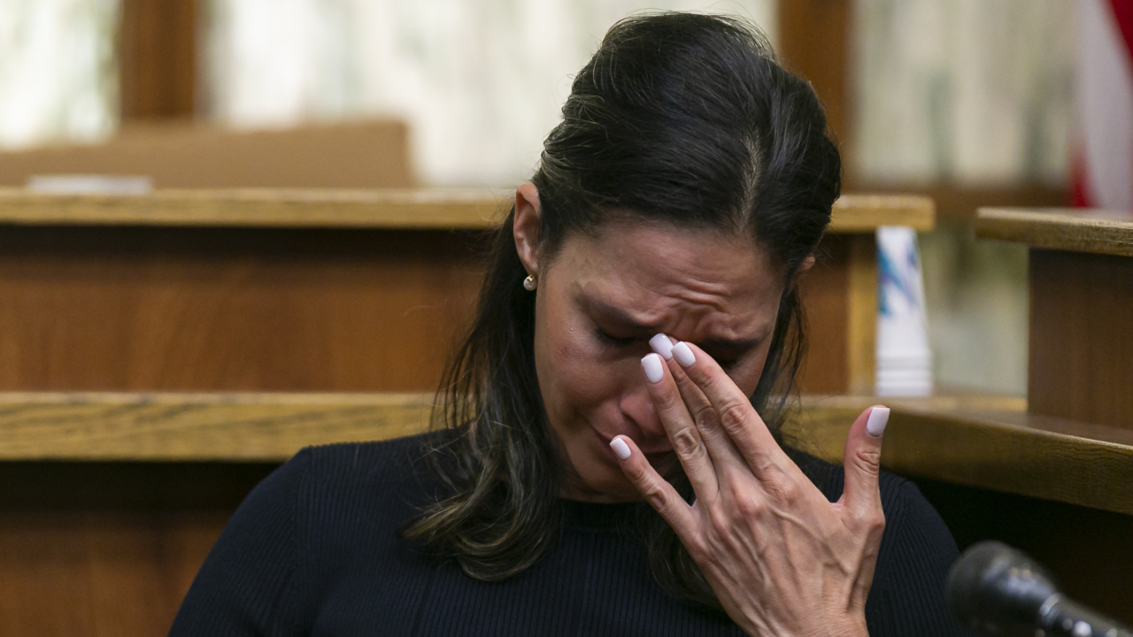 'He didn't have to die.' Ex of supermarket owner testifies about affair that led to murder