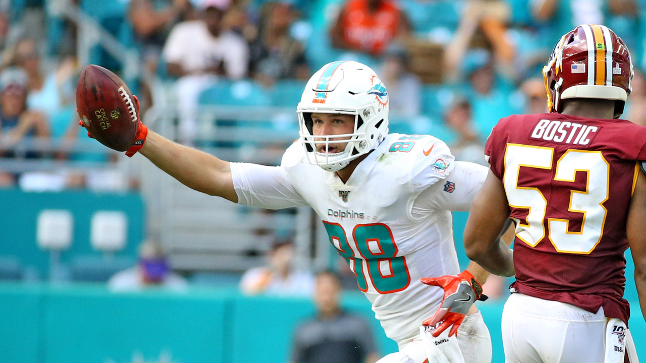 Gesicki has zero TDs in 21 games. Why numbers don't tell the whole story on Dolphins' TE