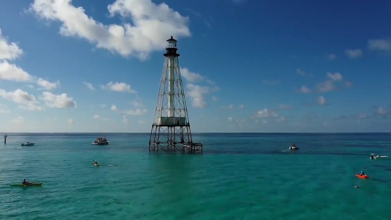 The Coast Guard is giving away historic Florida Keys lighthouses. But there's a catch