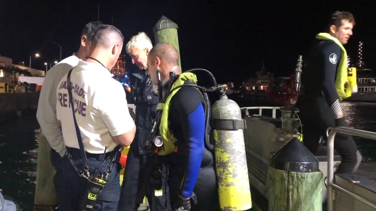 Two dead after boat-flipping crash at the southern end of Miami Beach