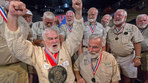 Tennessee man beats out 141 others to win Hemingway Look-Alike contest in Key West