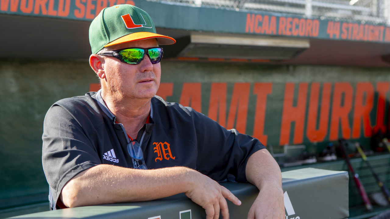 UM head coach Gino DiMare talks about expectations for Canes baseball