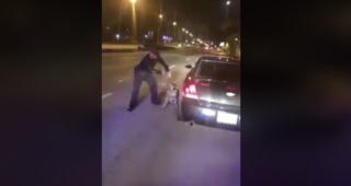 Officer is reassigned after yanking his dog aggressively