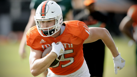 UM tight end Will Mallory says up-tempo offense is 'a dream for us'