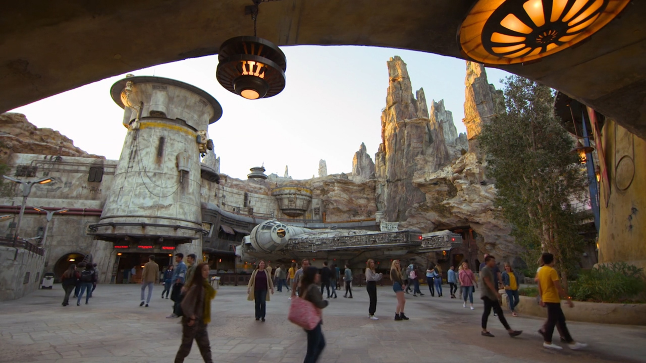 I crashed the Millennium Falcon. What it's like to pilot Disney's new Star Wars ride.