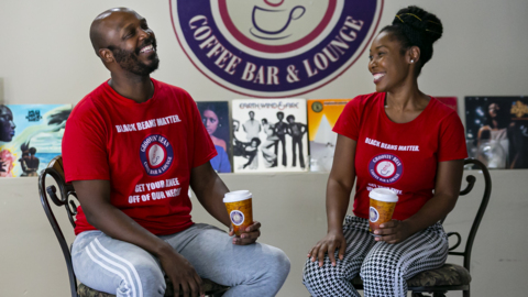This coffee shop in Miami's Overtown neighborhood is standing up for its community