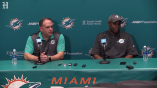 Miami Dolphins talk about what they look for in quarterbacks