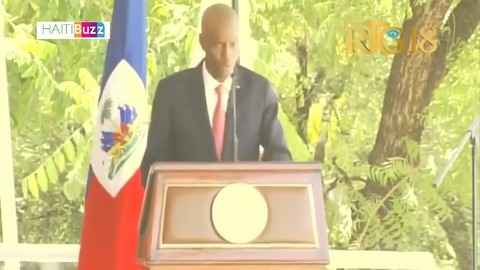 Haiti President Jovenel Moise says he's not corrupt, appeals for calm