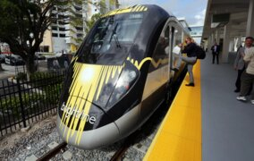 Brightline launching in Miami 'hopefully' by early May, Gimenez say