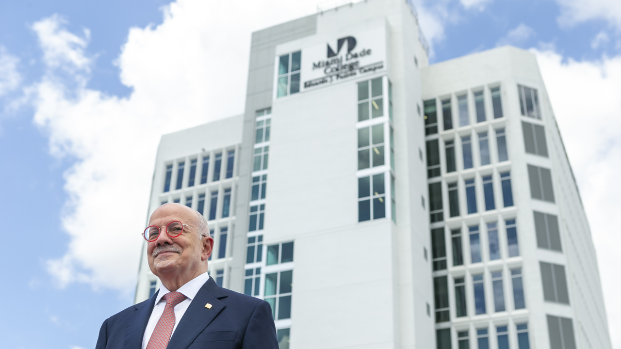 Miami Dade College Renames Interamerican Campus For Padron Miami Herald