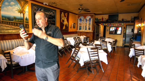 Trattoria Luna restaurant's insurance company says they are not covered for the coronavirus