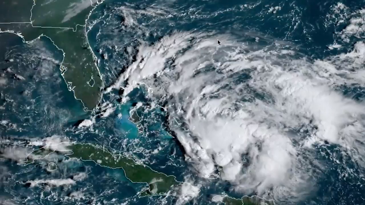 Bahamas issues tropical storm warnings as potential depression brews in the Atlantic