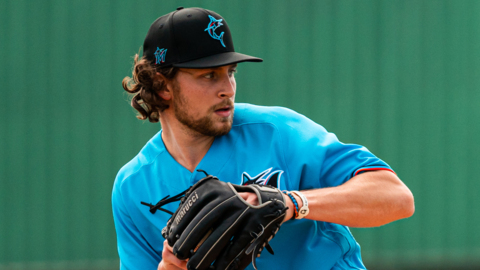 Marlins pitcher Nick Neidert on coming out from the bullpen