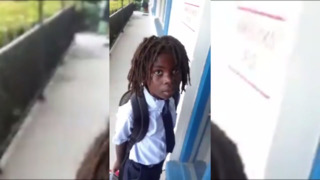 Six-year-old banned from Christian school because of his hair