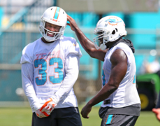 Dolphins RB Kalen Ballage on feedback he's received from coaches
