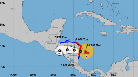Hurricane Eta just devastated Central America. How are countries preparing for Hurricane Iota?
