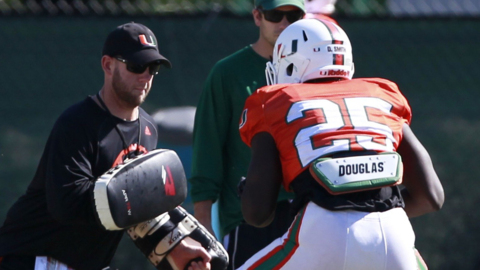 Hurricanes assistant coach Jonathan Patke discusses the battle at special teams