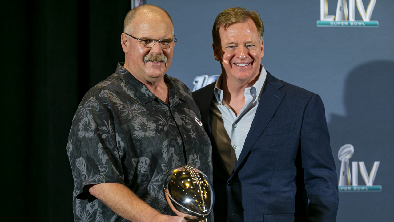 'I didn't really sleep last night,' says Andy Reid after Chiefs win Super Bowl 54