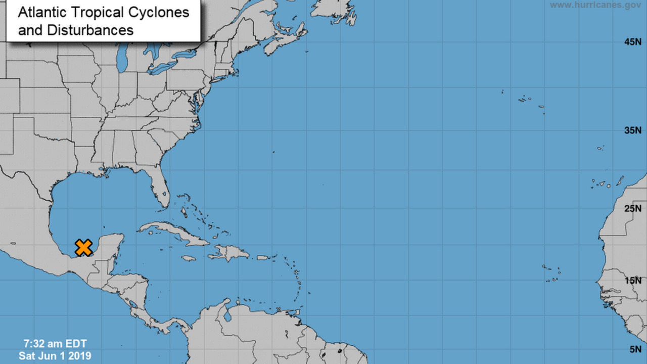 Welcome to hurricane season. There's already a system developing in the Gulf