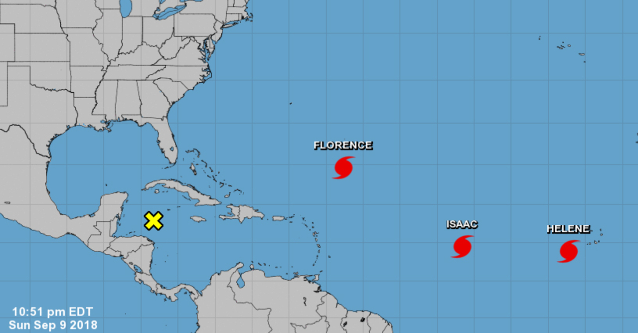 Updates on Hurricanes Helene and Florence, Tropical Storm