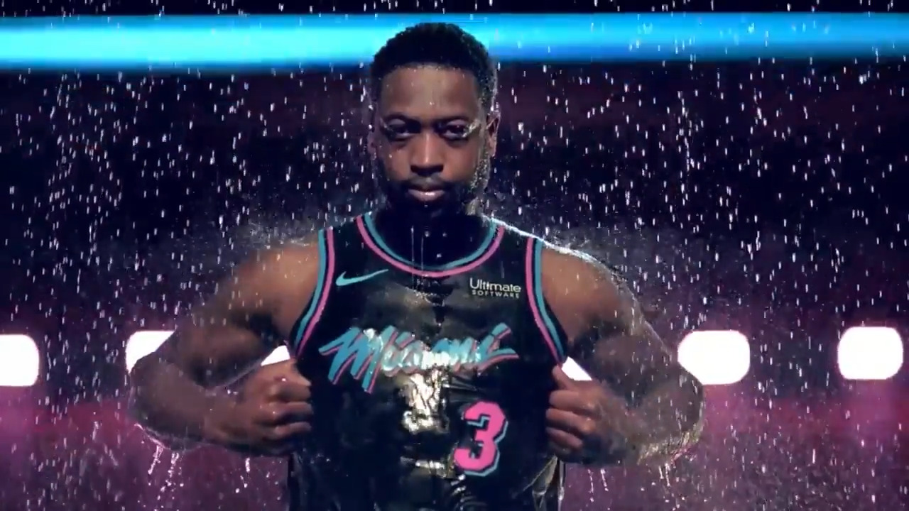 hot sales 78102 26608 Miami Heat reveals 'Vice Nights' intro video | Miami Herald
