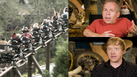 How Hagrid got his own roller coaster and we got menaced by a blast-ended skrewt
