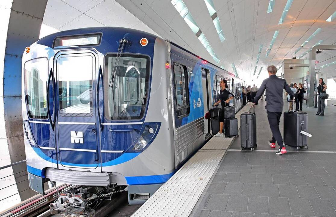 How does Miami's public transit system compare? We're behind New York but beat Dallas.