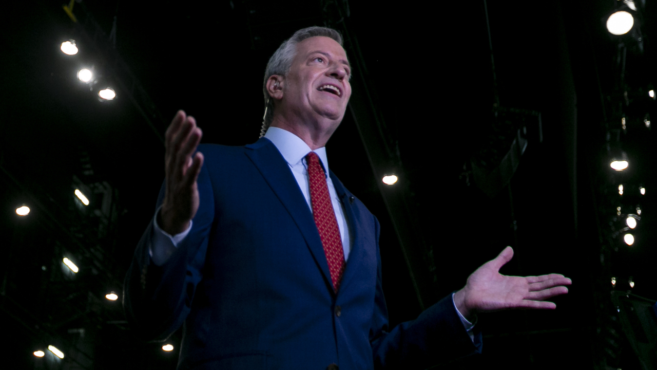 De Blasio quotes Che Guevara in rally with Miami International  Airport union workers