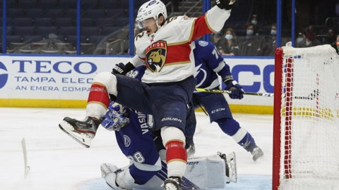 Panthers' postgame comments after the OT loss to the Lightning