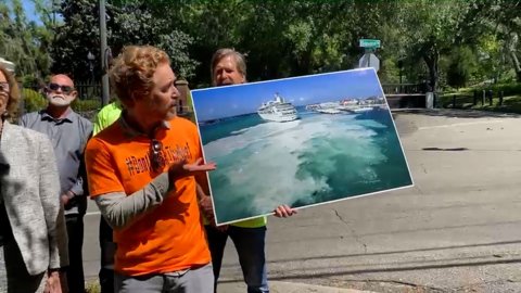 Key West residents protest Florida bill that will preempt local referendum limiting cruise ships