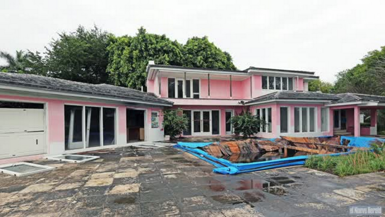 Miami Beach Lord Pablo Escobar S Former Mansion To Be Torn Down Herald