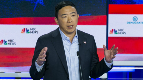 Who is Democratic presidential candidate Andrew Yang?