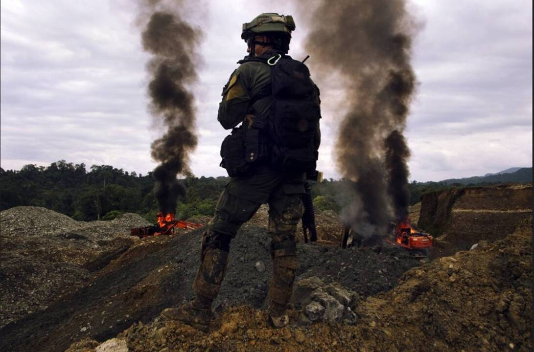 Part 2: Dirty gold is the new cocaine in Colombia — and it's just as bloody
