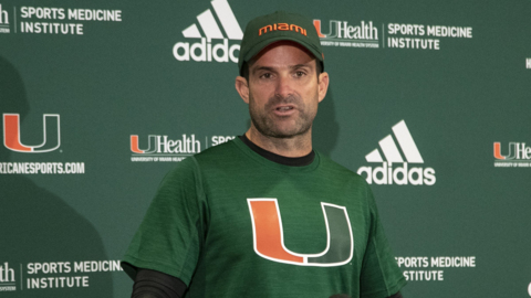 Manny Diaz talks about the week of practice after the layoff because of team Covid-19 cases