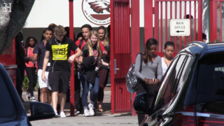 Nineteen years after Columbine, Stoneman Douglas students walk out