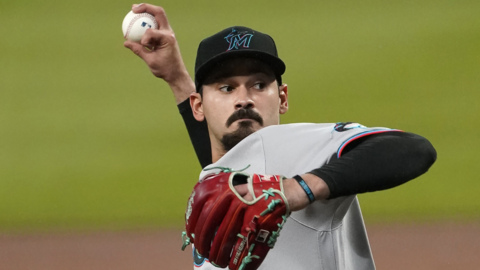 Marlins' Mattingly and Lopez talk Miami's win over Braves