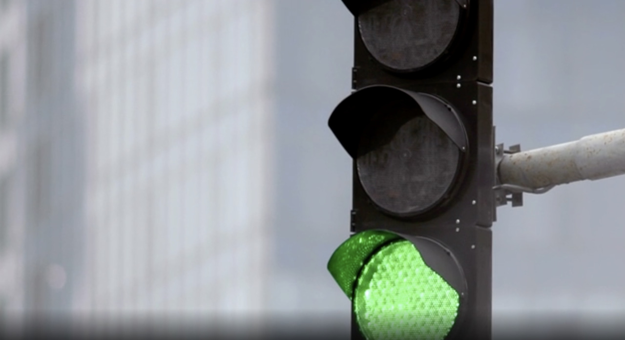 A green traffic light means go. Like, go now. Right now. Except in Miami.