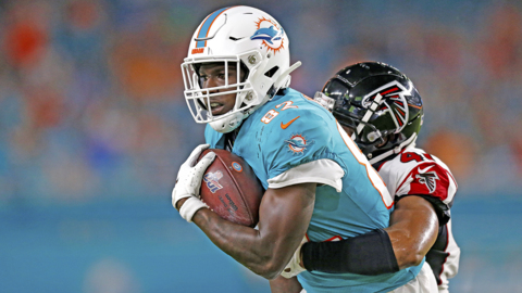 Some Dolphins pass-catchers show significant improvement, but there is a notable exception