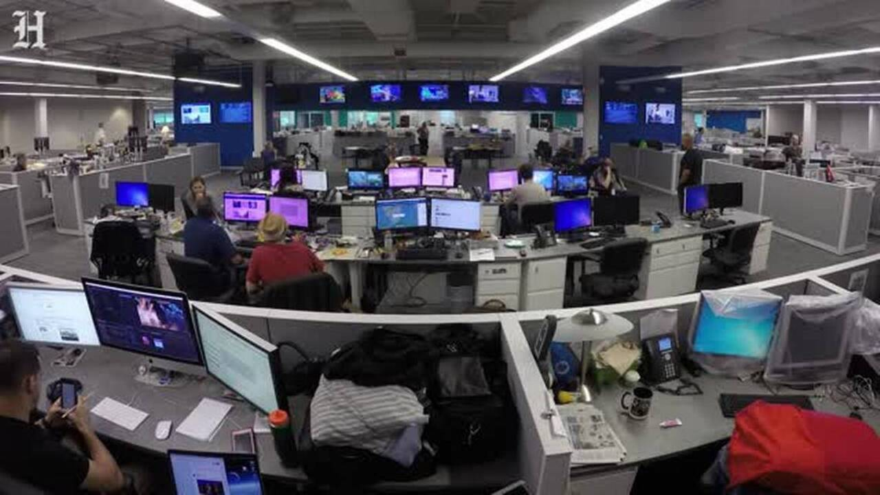 How the newsroom covered Hurricane Irma for 48 hours without stopping