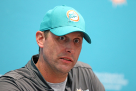 Miami Dolphins head coach Adam Gase talks about the energy at OTAs