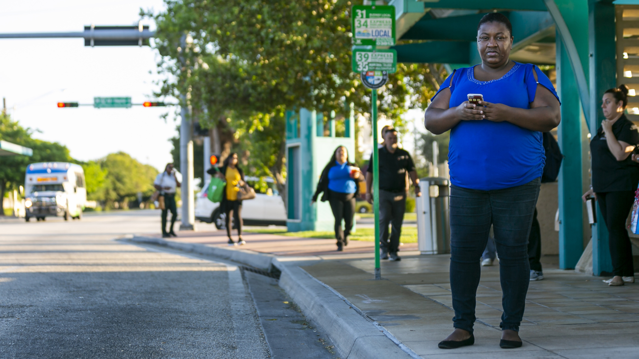 Waiting for the bus in Miami-Dade, and waiting some more. A look at how to fix that