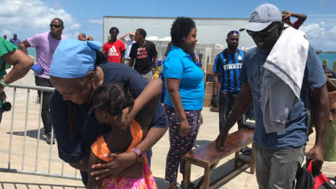 Dorian rampaged through the Abacos. It spared their island. Now they're embracing evacuees