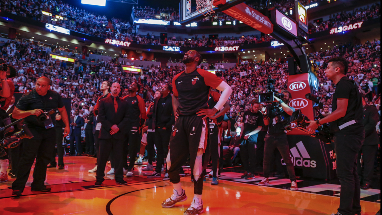 Wade said he's staying in shape 'just in case.' But Heat fans, don't hold your breath