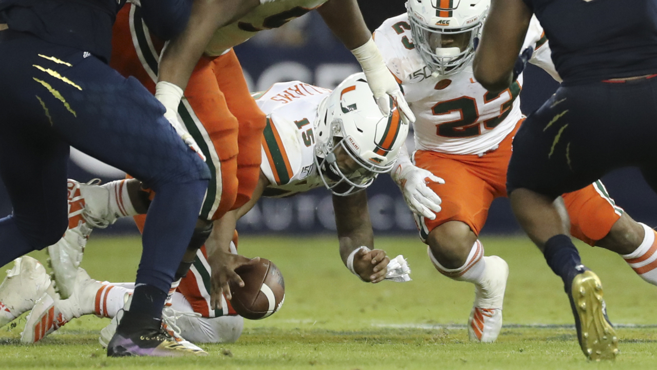 Transfer portal whirling toward Miami? And Hurricanes coach leaving for Penn State