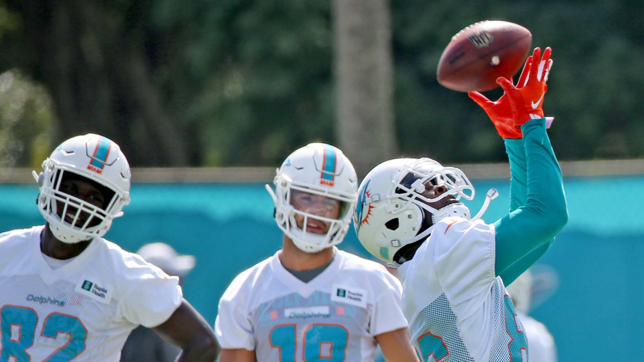 Tragic to triumphant: Dolphins' Hurns returns to the scene of his gruesome leg injury